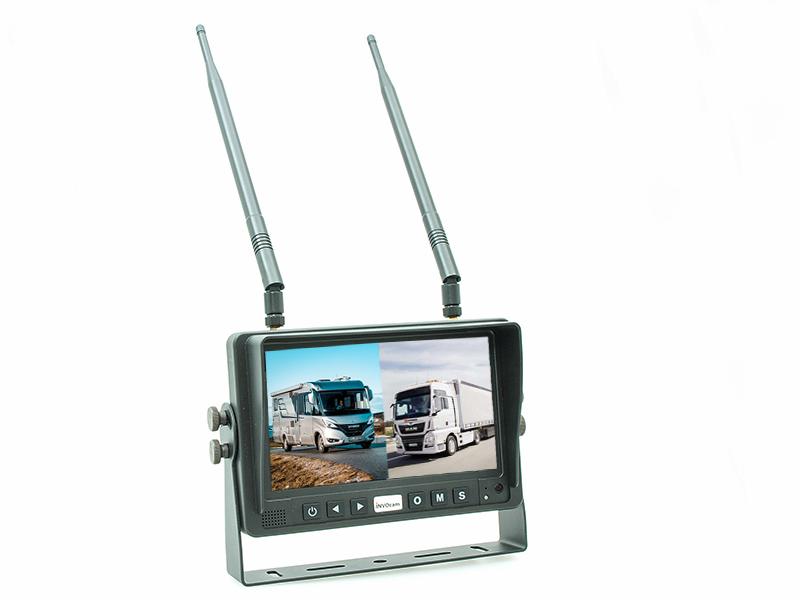 ecran 7 pouces sans fil wifi pour afficher de une à 2 caméras, la qualité Invocam