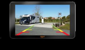 branchement caméra de recul GPS AGURI camping car